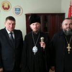 Епископ Борисовский и Марьиногорский Вениамин встретился с Председателем Крупского районного исполнительного комитета