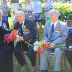 В г.п. Руденск прошли мероприятия в честь Дня Победы