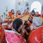 Престольный праздник отметил храм в честь святых благоверных князей-страстотерпцев Бориса и Глеба г. Борисова