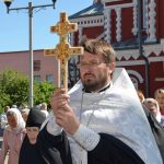 Крест преподобной Евфросинии Полоцкой завершил пребывание на борисовской земле