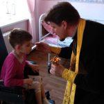 Совершена Божественная литургия в ГУ «Червенский дом-интернат для детей-инвалидов и молодых инвалидов с особенностями психофизического развития»