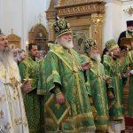 Епископ Борисовский и Марьиногорский Вениамин принимает участие в торжествах, посвящённых почитанию преподобной Евфросинии, игумении Полоцкой