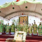 Епископ Борисовский и Марьиногорский Вениамин принял участие в торжествах, посвященных 20-летию со дня прославления святого праведного Иоанна Кормянского