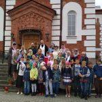 Паломники из г.Логойска посетили один из красивейших храмов Борисовской епархии