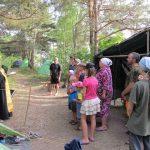 В Крупском благочинии состоялось открытие детского лагеря «Елеон-2015»