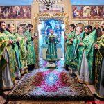 Престольный праздник отметил криптовый храм в честь святого Сергия Радонежского посёлка Дружный