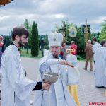 В праздник Рождества Иоанна Крестителя Предтеченский храм в Борисовской епархии отметил 10-летний юбилей