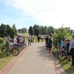 В Крупках прошел велосипедный крестный ход