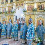 Епископ Борисовский и Марьиногорский Вениамин принял участие в торжествах в честь Сукневичской иконы Божией Матери