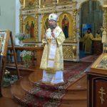Епископ Вениамин совершил Литургию в Ляденском мужском монастыре Благовещения Пресвятой Богородицы