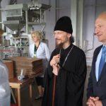 Епископ Борисовский и Марьиногорский Вениамин посетил Борисовский Мелькомбинат и макаронную фабрику «БОРИМАК»