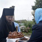В праздник Успения Пресвятой Богородицы епископ Вениамин совершил Литургию в Успенском храме аг. Косино