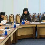 Епископ Борисовский и Марьиногорский Вениамин принял участие в очередном заседании Синода Белорусской Православной Церкви