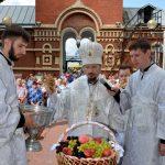 На Преображение Господне епископ Вениамин возглавил Литургию в кафедральном соборе Воскресения Христова