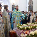 В праздник Успения Пресвятой Богородицы в Воскресенском кафедральном соборе совершили Божественную литургию
