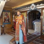 Священнослужитель посетил психоневрологический дом-интернат в п. Индом Червенского района