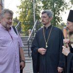 Борисов посетил праправнук А.И. Веригина — основателя Юльевской церкви-школы
