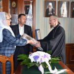 Сотрудники епархиального управления Борисовской епархии и кафедрального собора поздравили епископа Вениамина с юбилеем