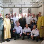 В Смолевичском районе в строящейся часовне состоялась встреча личного состава Минского православного казачества