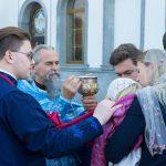 В праздник Покрова Пресвятой Богородицы молящиеся из Борисовской епархии посетили Литургию, которую возглавил Святейший Патриарх Московский и всея Руси Кирилл