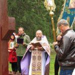 В Крупках прошел крестный ход и были освящены поклонные кресты