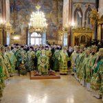 В день преставления преподобного Сергия Радонежского епископ Борисовский и Марьиногорский Вениамин сослужил за Божественной литургией Предстоятелю Русской Православной Церкви