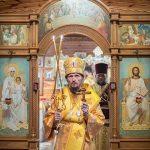 Епископ Борисовский и Марьиногорский Вениамин совершил Божественную литургию в монастыре в честь святого апостола и евангелиста Иоанна Богослова д. Домашаны