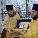 Святыни покинули Воскресенский кафедральный собор города Борисова