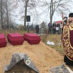В д. Колодежи перезахоронили останки трёх неизвестных красноармейцев, погибших в начале Великой Отечественной войны