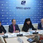 Епископ Борисовский и Марьиногорский Вениамин принял участие в пресс-конференции, посвященной Четвертым Белорусским Рождественским чтениям