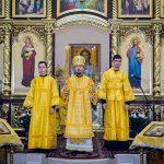 В день памяти святителя Николая Чудотворца, епископ Борисовский и Марьиногорский Вениамин совершил Божественную литургию в Никольском храме города Березино