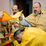 В Неделю 31-ю по Пятидесятнице епископ Борисовский и Марьиногорский Вениамин совершил Божественную литургию в храме Святой Живоначальной Троицы д.Бытча