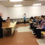 В Марьиной Горке священнослужитель встретился с социальными работниками