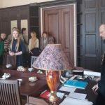 Епископ Борисовский и Марьиногорский Вениамин поблагодарил студентов Института теологии, выступивших волонтерами на IV Белорусских Рождественских чтениях «Молодежь: свобода и ответственность»
