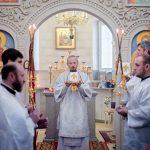 В Навечерие Богоявления епископ Борисовский и Марьиногорский Вениамин совершил Божественную литургию в храме-часовне Святого Богоявления Свято-Троицкого прихода г.Борисова