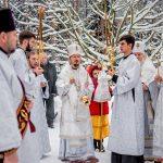 Епископ Борисовский и Марьиногорский Вениамин совершил заупокойную Божественную литургию в Женском монастыре в честь святой блаженной Ксении Петербургской в деревне Барань