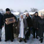 Поздравление с Рождеством Христовым одиноких пожилых людей и инвалидов в больницах сестринского ухода и интернате