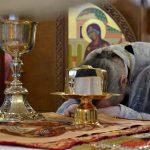 В навечерие Рождества Христова (Рождественский сочельник) епископ Борисовский и Марьиногорский Вениамин совершил Божественную литургию в кафедральном соборе Воскресения Христова города Борисова