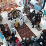 В праздник Обрезания Господня епископ Борисовский и Марьиногорский Вениамин возглавил Божественную литургию в храме святителя Николая Чудотворца г. Червень