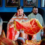 В храме в честь Минской иконы Божией Матери г. Смолевичи епископ Вениамин совершил Божественную литургию