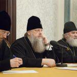 В рамках XXVII Международных Рождественских образовательных чтений епископ Борисовский и Марьиногорский Вениамин принял участие во встрече руководителей и сотрудников профильных епархиальных отделов