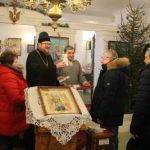 Члены Совета Республики Беларусь посетили строящийся храм Покрова Пресвятой Богородицы в Озерицкой Слободе