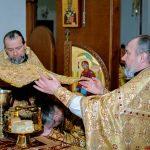 В Неделю сыропустную епископ Вениамин совершил Божественную литургию в кафедральном соборе Воскресения Христова города Борисова