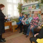 В Борисовской городской специализированной библиотеке № 5 для слабовидящих читателей прошел час духовного общения «Родники духовной мудрости»