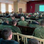 В войсковой части г. Борисова состоялась встреча военнослужащих со священнослужителем и врачом-интерном