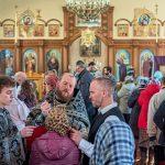 Епископ Борисовский и Марьиногорский Вениамин совершил Литургию Преждеосвящённых Даров в храме в честь святителя Николая Чудотворца города Крупки