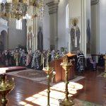 Совместное богослужение духовенства Борисовской епархии