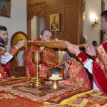 Пасхальное богослужение в кафедральном соборе Воскресения Христова города Борисова