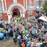 В праздник Входа Господнего в Иерусалим епископ Вениамин возглавит Божественную литургию в кафедральном соборе г. Борисова