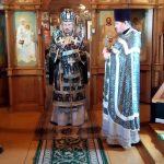 Епископ Борисовский и Марьиногорский Вениамин совершил Литургию Преждеосвященных Даров в женском монастыре в честь святого апостола и евангелиста Иоанна Богослова д. Домашаны